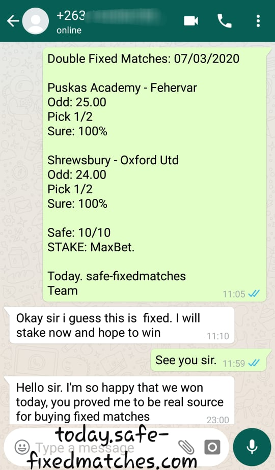 today soccer fixed predictions